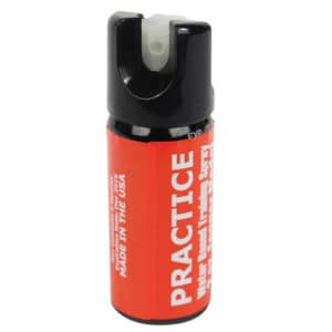 Practice Pepper Spray